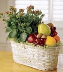 fruit flower baskets the flower shop fruit gourmet baskets
