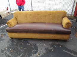 double sided sofa