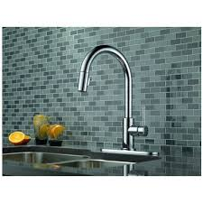 Delta Linden Kitchen Faucet by Delta 9159 Dst Trinsic Single Handle Pull Down Kitchen Faucet In
