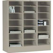 Tennsco Bookcase Cabinets Drawer Tennsco Literature Organizer Cabinet 5075 214