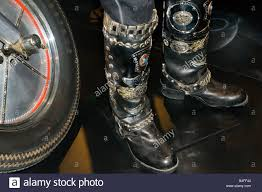 dc motocross boots biker boots stock photos u0026 biker boots stock images alamy