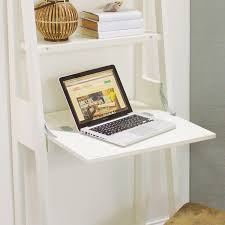 white lacquer josephine bookcase with work surface world market