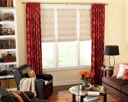 Flat Roman Shades - roman shades by galaxy draperies los angeles ca