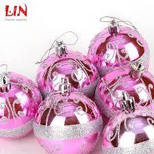 pink christmas tree ornaments christmas lights decoration