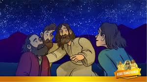 matthew 17 the transfiguration kids bible story kids bible stories