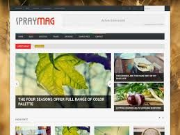 food templates free download spray mag blogger template blogger templates gallery blogger templates