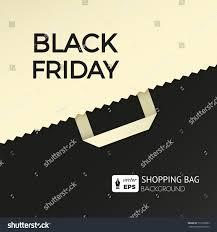 best black friday online deals for luggage flat design vector illustration shopping bag stock vector