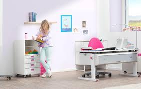 B O Schreibtisch Holz Moll Champion Kinderschrebtisch Mitwachsend Und Höhenverstellbar