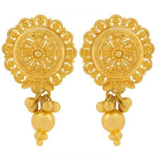 gold earrings tops tohfay home