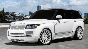 white wrapped range rover dub magazine wide body range rover on forgiato wheels