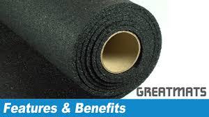 home gym mats plyometric rubber flooring rolls youtube