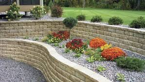 How To Landscape A Sloped Backyard - landscaping with mulch