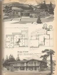 home planners house plans vintage house plans mid century homes 1960s houses homes