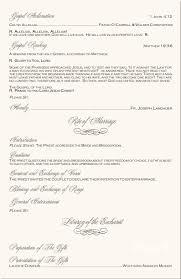 Catholic Mass Wedding Programs Nardia U0027s Blog A Beach Wedding Program Features Seahorse Monogram