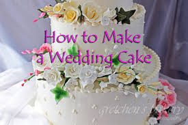 A Wedding Cake How To Make A Wedding Cake Youtube