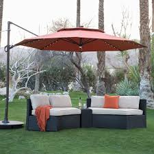 Lighted Patio Umbrella Patio Umbrellas On Sale Free Home Decor Techhungry Us