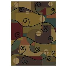 Area Rugs Shaw Shop Shaw Living Zydeco Rectangular Multicolor Area Rug At Lowes