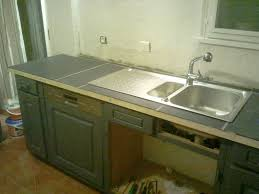 meuble cuisine a poser sur plan de travail pose d un plan de travail cuisine les pour installer un