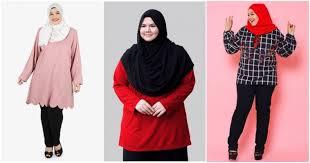 Menjual Seluar Perempuan 7 kedai pakaian plus size untuk wanita bertubuh comel lobak