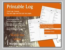 food log template 29 free word excel pdf documents free