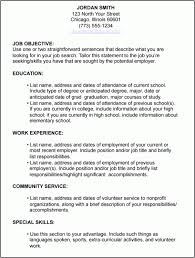 How To Build A Resume For A Job by Job Resume 6 Resume Cv