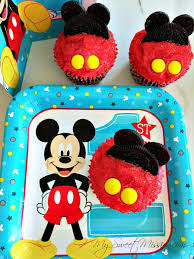 mickey mouse cupcakes sweet mission