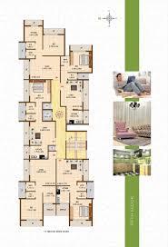 floor plan gaj buildcon pvt ltd gaj avenue at kalundre