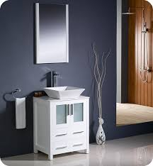 24 Bathroom Vanity With Drawers by Fresca Fvn6224wh Vsl Torino 24
