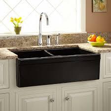 Fiammetta Double Bowl Fireclay Farmhouse Sink Belted Apron - Fireclay apron front kitchen sink