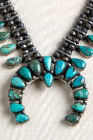 turquoise necklace earring set images Modern turquoise squash blossom necklace and earring set jpg