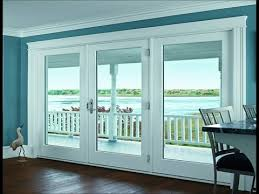 Single Patio Doors With Built In Blinds Between The Glass Blinds For Windows Pella Within French Doors