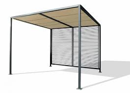 balkon pavillon dreams4home pergola darran terrassenüberdachung pavillon