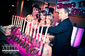 sweet 16 candelabra name with