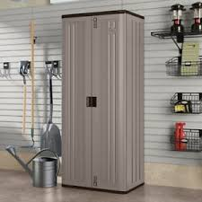 suncast wall storage cabinet platinum suncast tall storage cabinet slate 728964387554 ebay