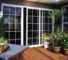 Single Patio Doors With Built In Blinds Builders Vinyl Sliding Patio Door Jeld Wen Windows U0026 Doors