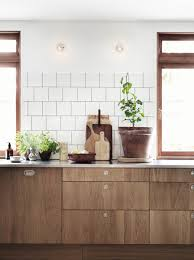 White And Wood Kitchen Cabinets Decordots Wooden Kitchen Cabinets And Concrete Floor