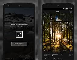 lightroom for android android lightroom mobile comes to android but just phones for now