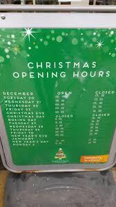 sainsbury u0027s christmas and new year shopping opening hours 2016