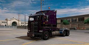 2017 kenworth cabover kenworth k100 truck v2 edited by solaris36 american truck