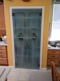 pantry doors with custom sandblast superior shower door u0026 more inc