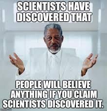 Science Meme - because science imgflip