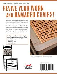 chair caning u0026 seat weaving handbook illustrated directions for