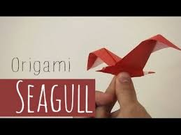 origami gabbiano origami seagull riccardo foschi