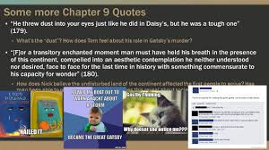 gatsby s house description gatsby 7 9 gatsby to tom ch 7 passages questions why does