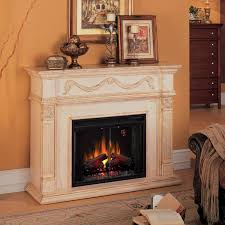 classicflame gossamer 55 inch electric wall mantel fireplace with