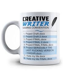 creative writer naming convention mug