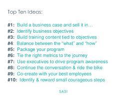 how to ideas top ten ideas how to run a social media training program