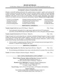 Educational Resume Example by Cover Letter Template For Resume For Teachers Substitute Teacher