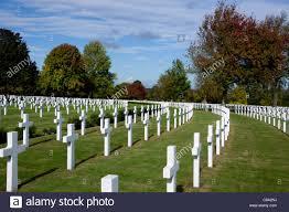 headstones nj rows of headstones at the american cemetery cambridge stock photo