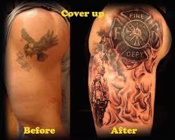 skull firefighter tattoos search tattoos